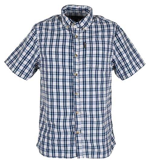 Pinewood Sommarskjorta Blå Herr M
