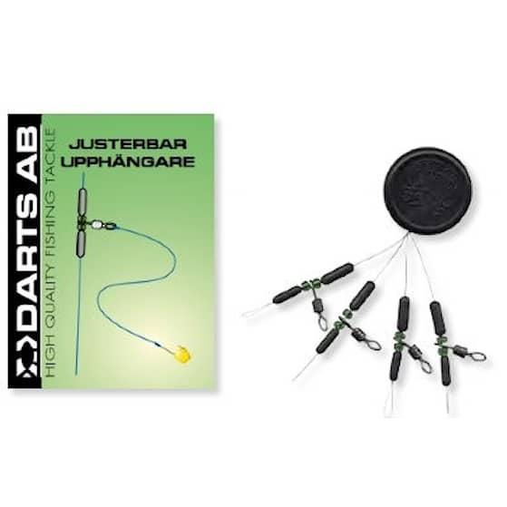 Darts Justerbar upphängare 4-pack