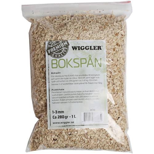 Wiggler Rökspån 250 g Bokspån av premiumkvalitet