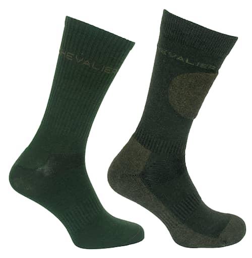 Chevalier Combi sock 2-pack Dark Green 37/39