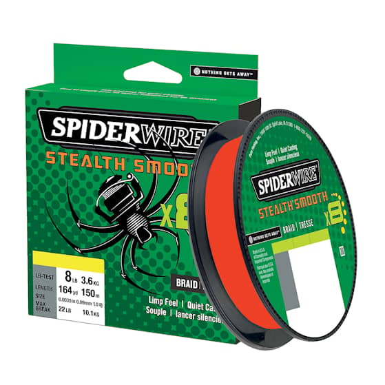 Spiderwire Stealth Smooth 8 0,39 mm Fiskelina