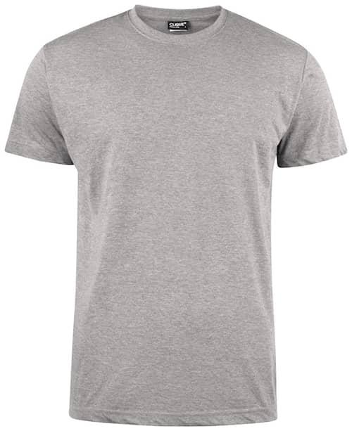 Clique T-shirt Herr Gråmelerad S