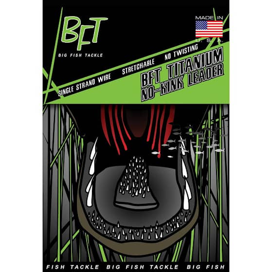 BFT Titanium No-Kink Leader