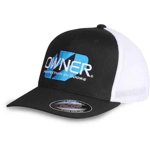 Owner Flexfit Trucker Cap, Black/White S/M