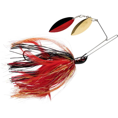 Storm R.I.P Spinnerbait Willow 28 g Black Widow (BWD)