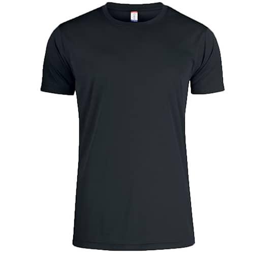 Clique T-shirt Funktion Svart - S