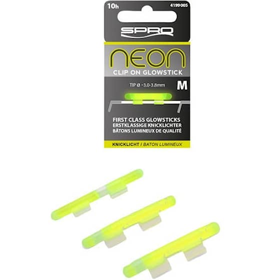 SPRO Neon Clip On Glow Sticks 1-pack Large