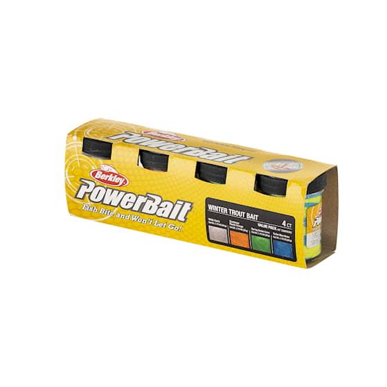 Powerbait Trout Bait Value Pack Winter 4-pack