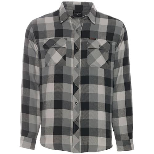 Grundéns Cordova Shirt Black Plaid XXL