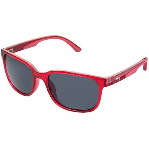 Berkley URBN Sunglasses Crystal Red Gray Lens