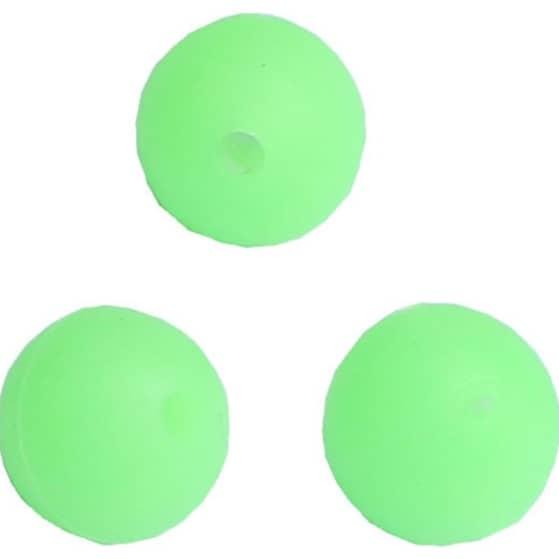 Wiggler Soft Beads Glow Green 4 mm