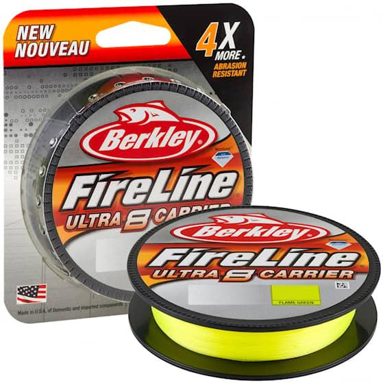 FireLine Ultra 8 0,32 mm 150 m Flame Green Fiskelina