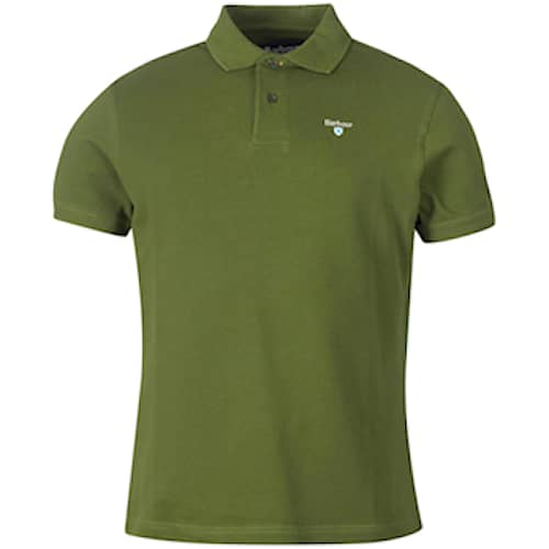 Barbour Sports Polo, Rifle Green, S