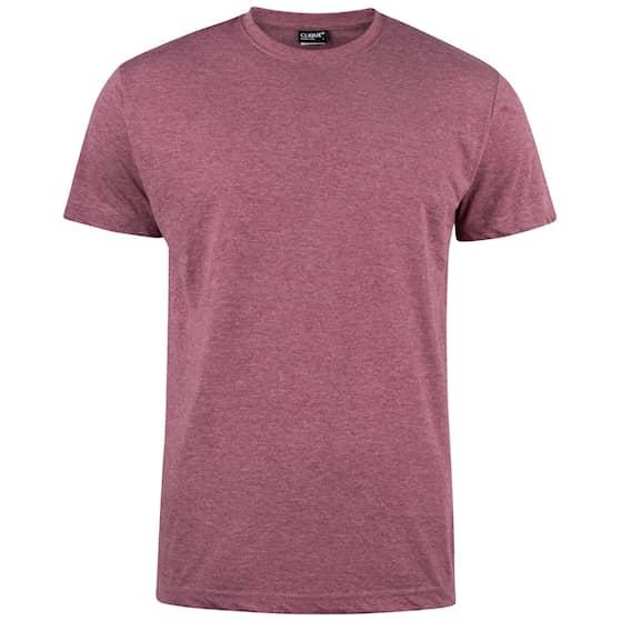 Clique T-shirt Herr Bordeaux