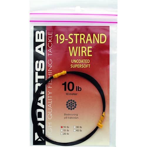 Darts 19 Strand Wire 20 lb 10 m