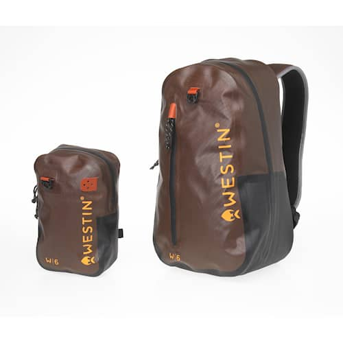 Westin W6 Wading Backpack and Chestpack Grizzly Brown Black