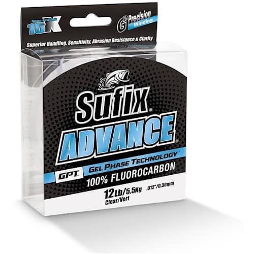 Sufix Advance Fluorocarbon 0,205 mm 135 m Clear