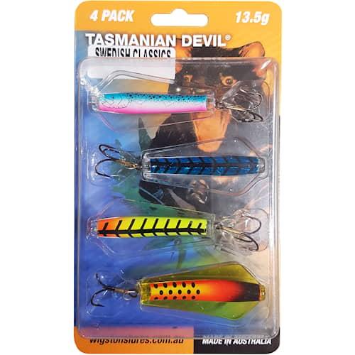 Tasmanian Devil 13,5 g Swedish Classics 4-pack