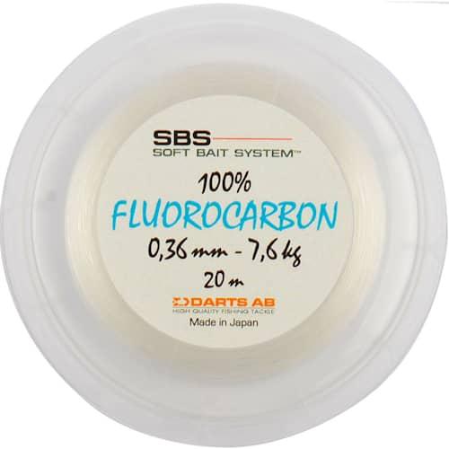 Darts SBS 100% Fluorocarbon 0,24 mm 4,2 kg 20 m
