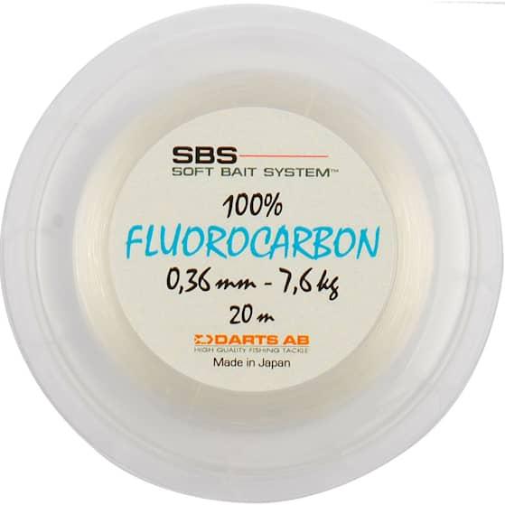 Darts SBS 100% Fluorocarbon 0,24 mm Fiskelina