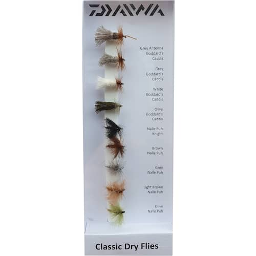 Daiwa Classic Dry Flies 9-pack