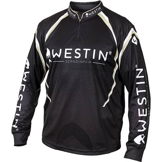 Westin LS Tournament Shirt Black/Grey