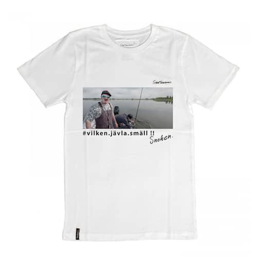 Svartzonker Snoken T-Shirt Vit XS