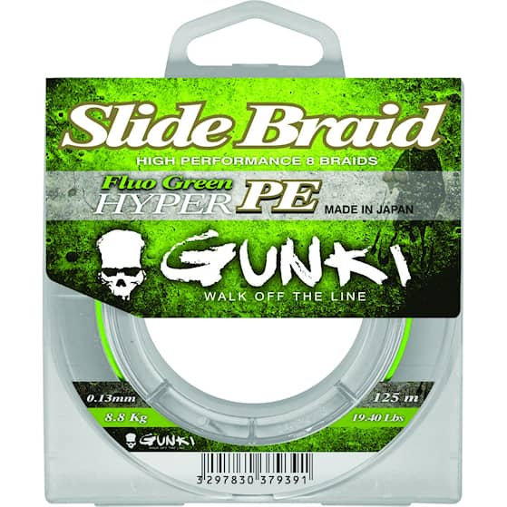 Gunki Slide Braid 0,08 mm Fiskelina