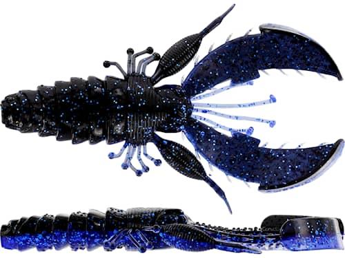 Westin CreCraw Creaturebait 10 cm Black/Blue 4-pack