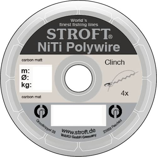 Stroft NiTi Polywire 0,20 mm 3,1 kg 2 m