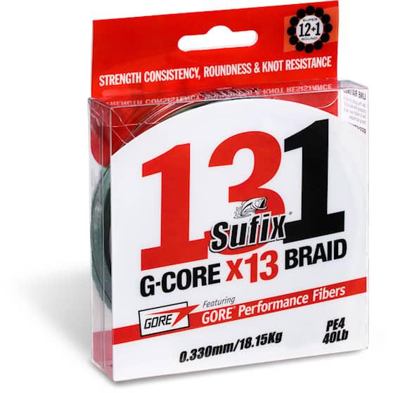 Sufix 131 G-Core Braid 0,128 mm Fiskelina