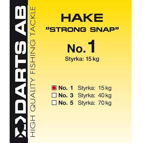 Darts Hake Strong Snap #1 14-pack