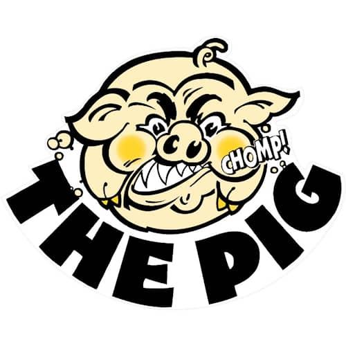 The Pig Sticker Stor 24x19 cm