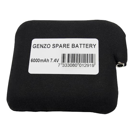 Genzo batteri till värmeväst