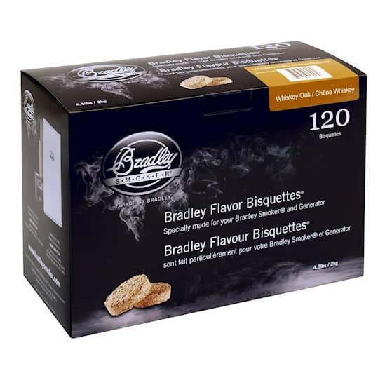 Bradley Briketter Whiskey Oak 120-pack