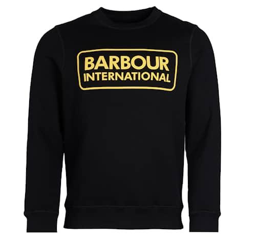 B.Intl Large Logo Sweatshirt, Black, S