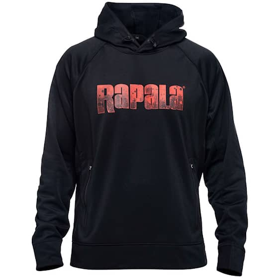 Rapala Hoodie Splash Black