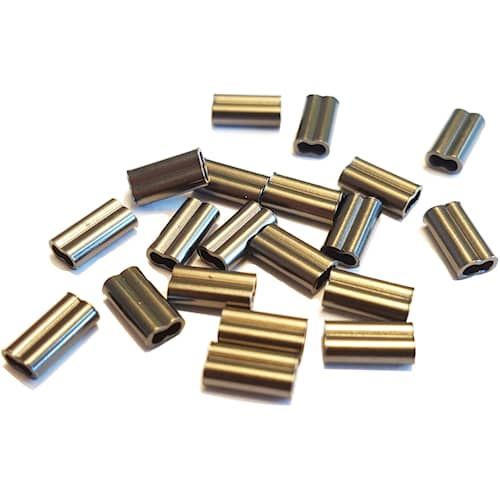BFT Double Copper Sleeve 0,8 mm 20-pack