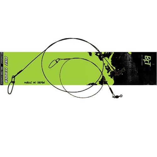 BFT Nylon Coated Leader 12'' 30 lb 2-pack