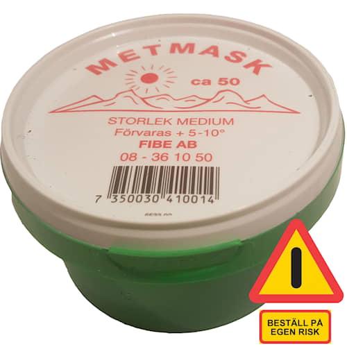 Fibe Metmask medium ca 50 st