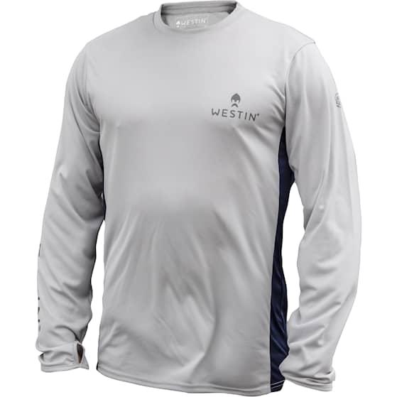Westin Pro UPF Long Sleeve Grey/Navy Blue