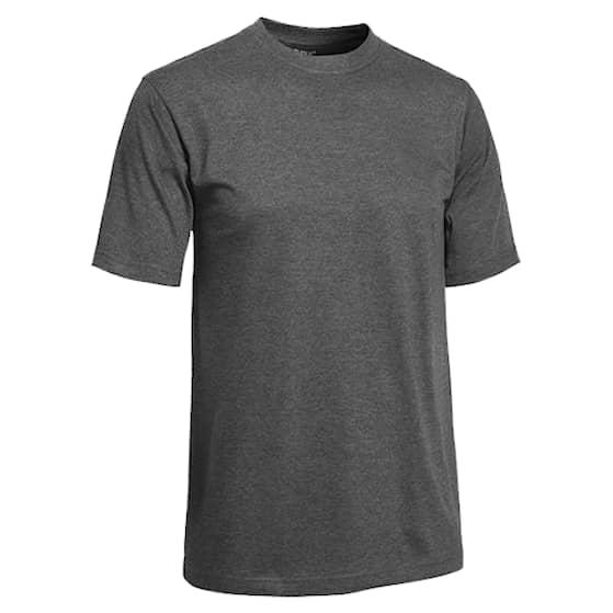 Clique T-shirt Herr Mörkgrå Melerad