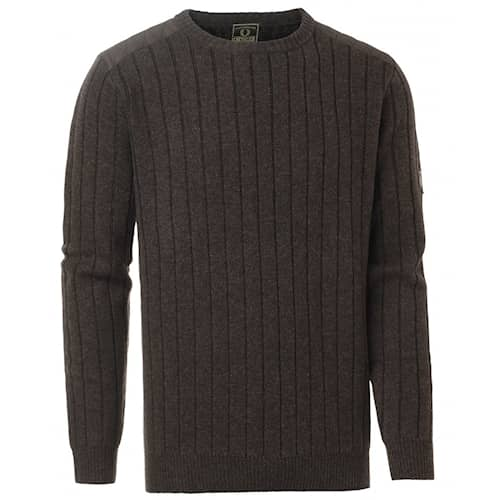 Chevalier Fjord Plated RN Sweater Brown - XL