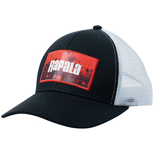 Rapala Trucker Cap Splash Black/Red