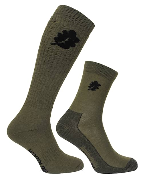 Woodline Socka + Linersocka Merinoull Set 40-45
