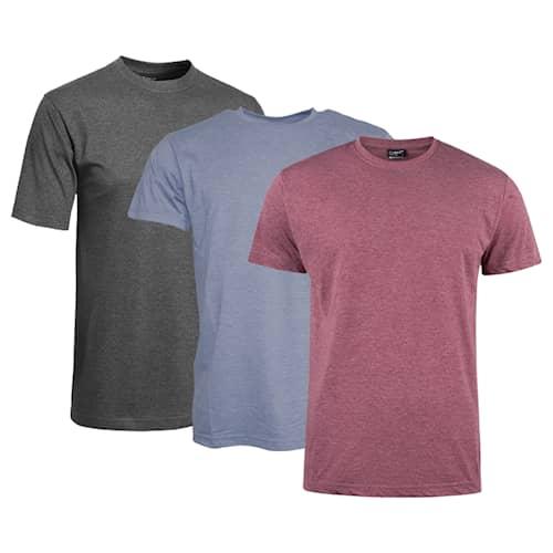 Clique T-shirt Herr 3-pack Mix