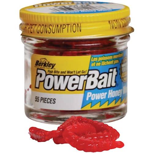 Powerbait Power Honey Worms Red