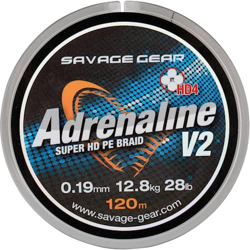 SG HD4 Adrenaline V2 0.33 mm 120 m Grey