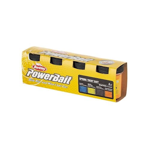 Powerbait Trout Bait Value Pack Spring 4-pack