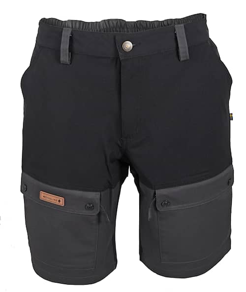 Woodline Shorts Boksund Svart/Grå S